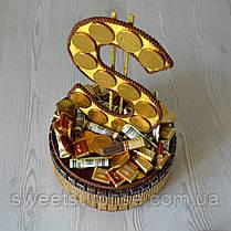 """Подарок из конфет и шоколада """"Доллар"""", фото 2"""