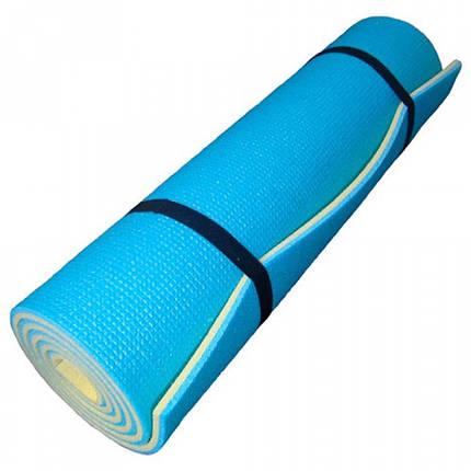 Каремат Verdani Карпаты 1800х600х12 мм Желто-синий, фото 2