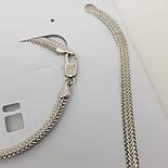 "Набор ""Цепочка, браслет"" Xuping под серебро, фото 2"