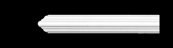 Молдинг для стен, гладкий, Classic Home 4-0310, лепной декор из полиуретана