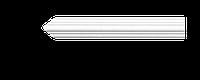 Молдинг для стен, гладкий, Classic Home 4-0310 flex, лепной декор из полиуретана