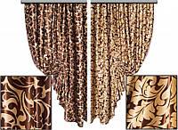 Ткань для штор блэкаут Блэкаут АЖУР № 07 (двухсторонняя)