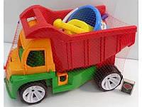 """Детский грузовик """"Алекс"""" с набором для песочницы 085 Бамсик"""