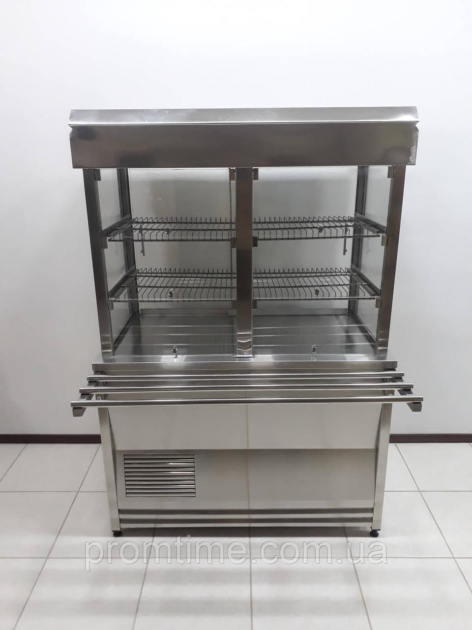 Витрина холодильная кондитерская 1200х700х1800