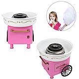 Аппарат машина для приготовления сладкой ваты VOLRO Cotton Candy Pink (vol-129), фото 4