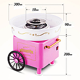 Аппарат машина для приготовления сладкой ваты VOLRO Cotton Candy Pink (vol-129), фото 2