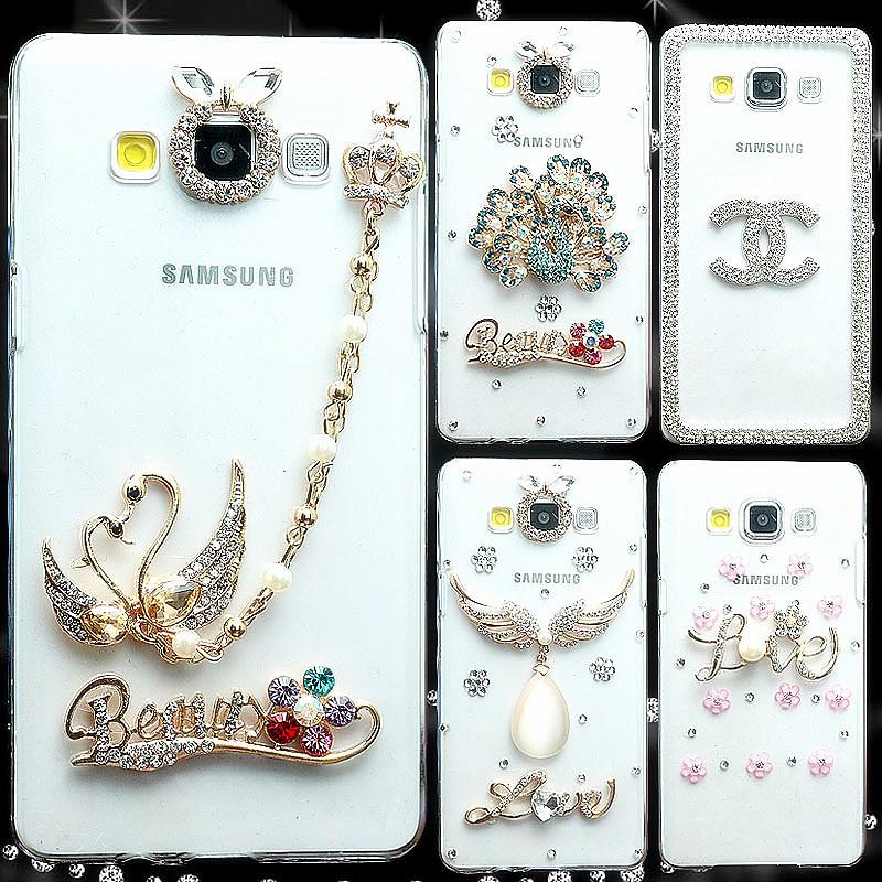 """Samsung G7102 GRAND 2 со стразами камнями оригинальный чехол панель накладка бампер для телефона """"HMDSLO"""""""