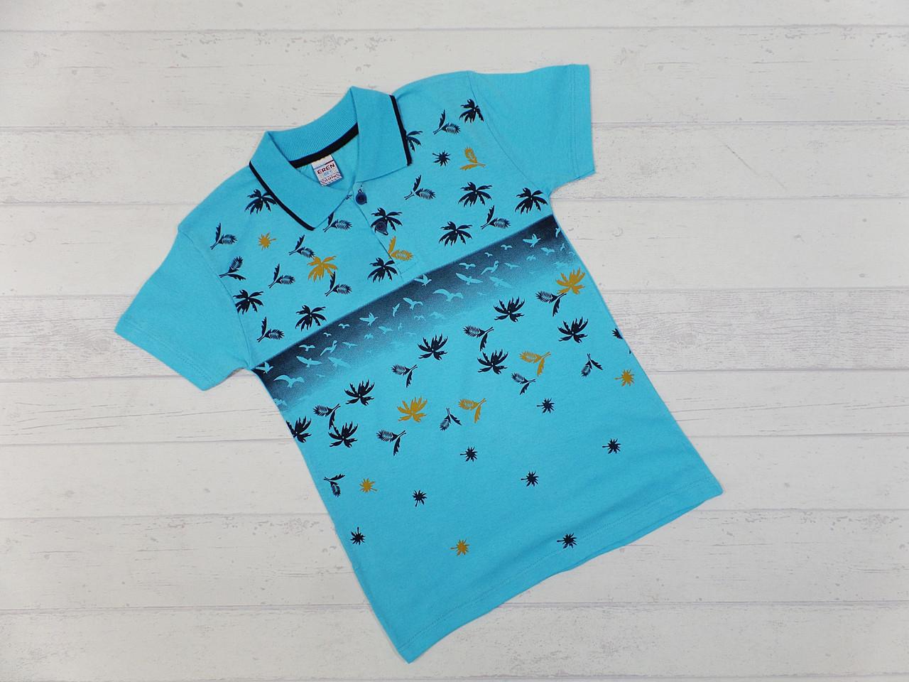 Детская футболка для мальчика 5-6, 6-7, 7-8, 8-9 лет