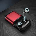 Наушники Wi-pods S7 TWS ОРИГИНАЛ беспроводные Bluetooth с кейсом Power Bank 500mah RED Оригинал, фото 8