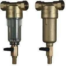 Самопромивний фільтр з манометром 1/2 Honeywell (холодний)