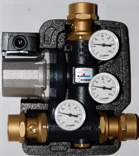 """Термічний клапан ESBE LTC141 G1 1/4"""" (65кВт) t-60°C"""