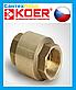 Обратный Клапан Латунный Koer 1-1/4 DN 32 PN 40, фото 2