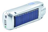 Фонарь Yajia CD-B05T на солнечной батарее Серый (hub_np2_1605)