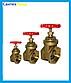 "Кран Задвижка ""1-1/2"" Латунь Water Pro DN 40 PN 20, фото 2"