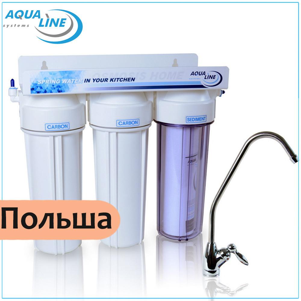 Питьевые фильтры для кухни Aqualine MF3 Standart
