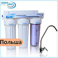 Питьевые фильтры для кухни Aqualine MF3 Standart, фото 1