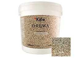 Мозаичная мраморная штукатурка Kale Drewa крупной фракции 25кг (силиконовая) №1410
