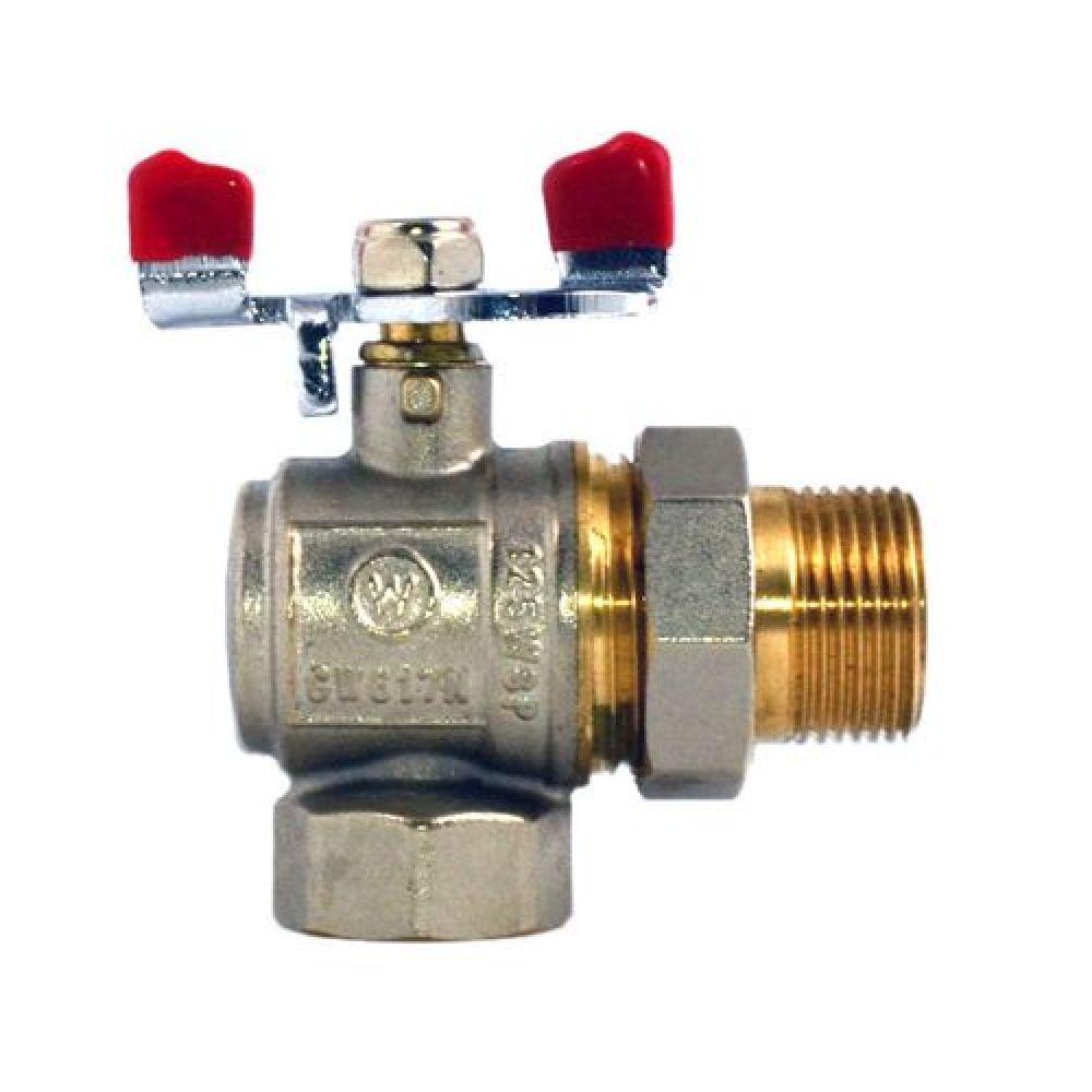Кран Американка Угловой 3/4 Water Pro DN 20 PN 20