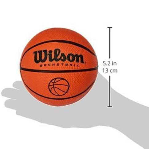 Мини-мяч баскетбольный WILSON MICRO BASKETBALL размер 1 резиновый (B1717)
