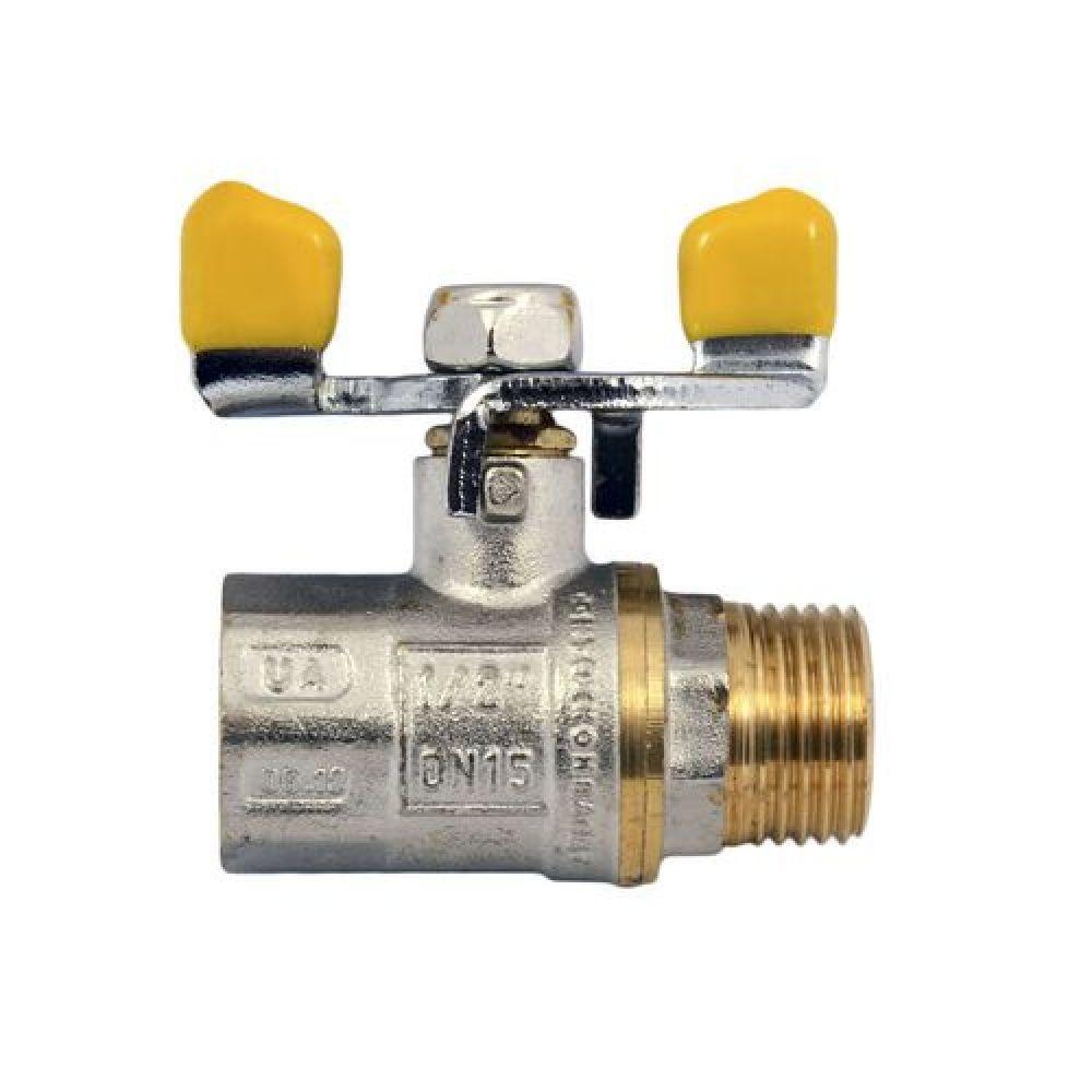 Кран Кульовий Газовий 3/4 Water Pro DN 20 PN 20 ГШБ