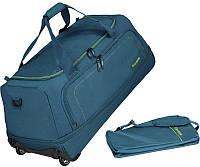 Дорожная складная  сумка Travelite Basics Petrol TL096279-22, синяя, 105л