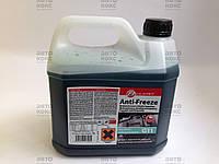 Охлаждающая жидкость Anti-Freeze G11 (концентрат) 3 л. Пр-во AT.