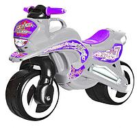 Каталка мотоцикл.Детский пластиковый беговел.Детский мотоцикл каталка.