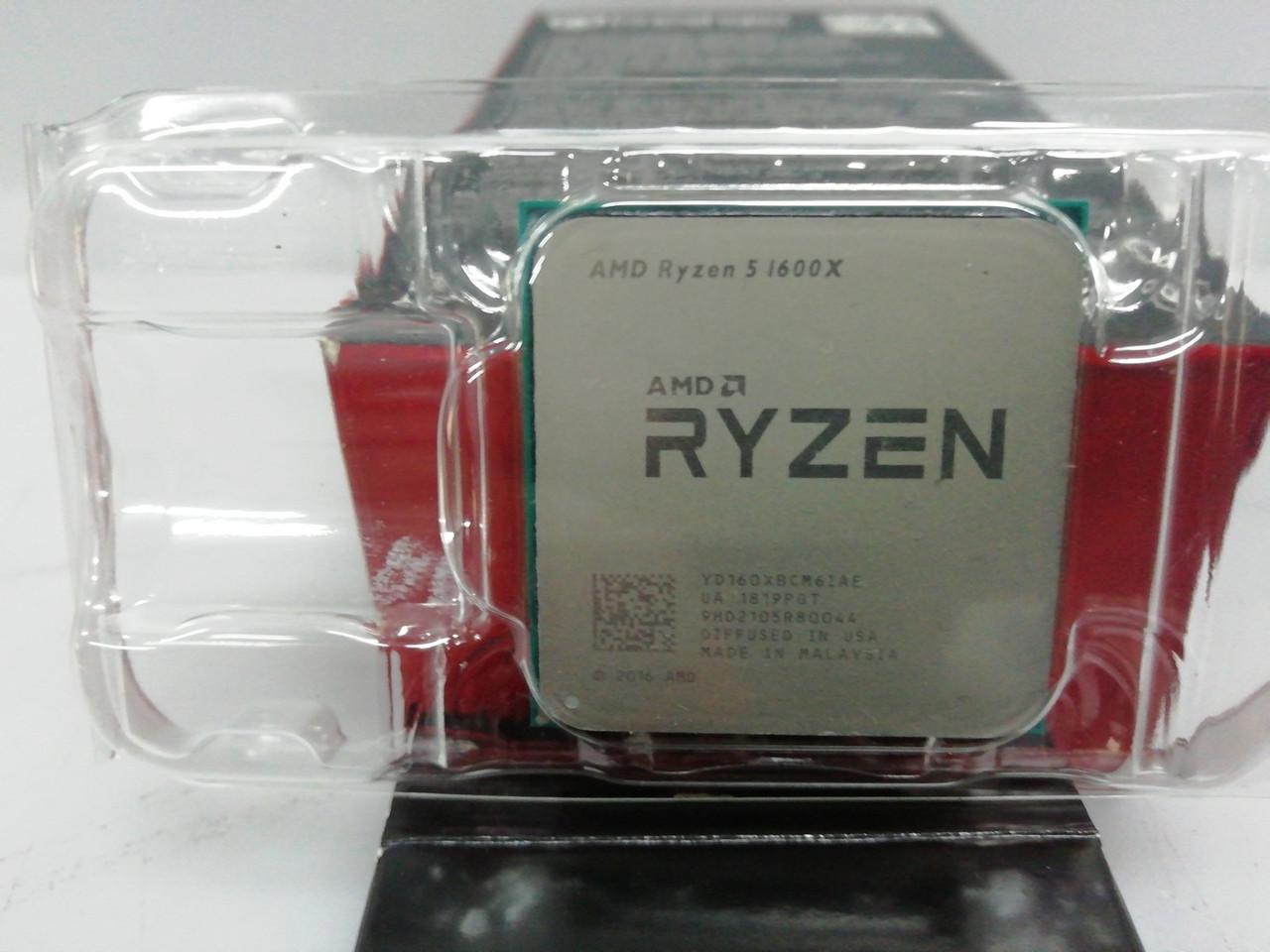 Процессор AMD Ryzen5 1600X  и остальной комплект