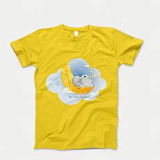 Детская футболка с принтом. Elephant Babi. Хлопок 100%. Размеры от 3 до 12 лет