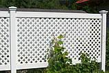"""Хвіртка для паркану ПВХ """"FAZENDA"""" (104,5х91,5х5 см), фото 2"""
