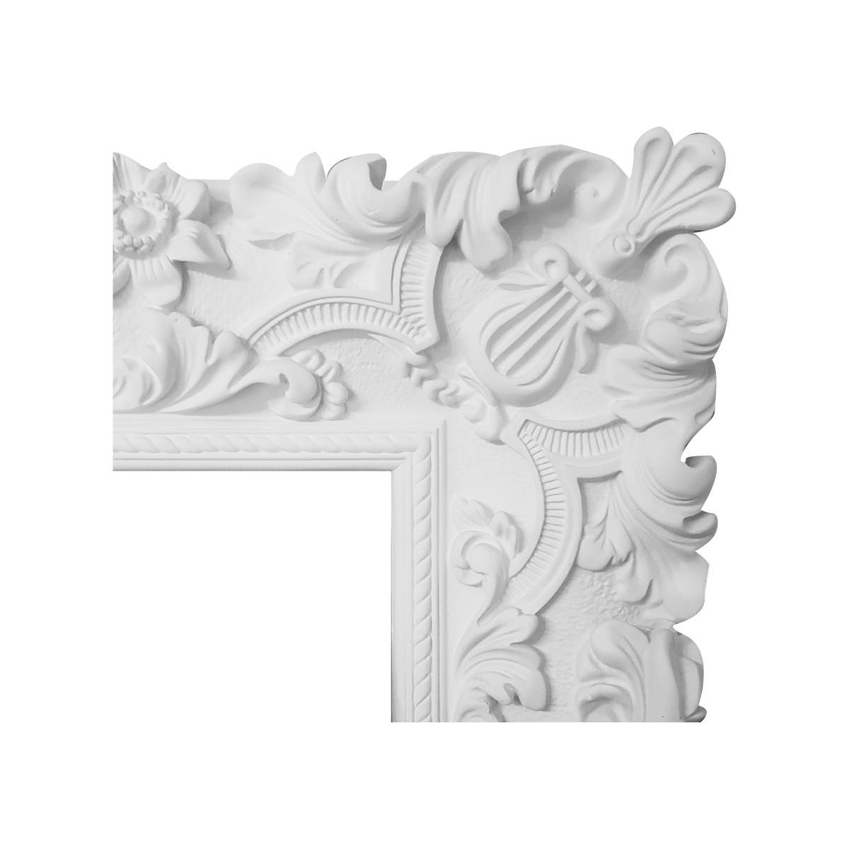 Гипсовая лепнина декоративный угол у-68 h220х220мм