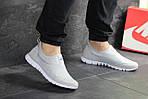 Мужские кроссовки Nike Free Run 3.0 ( светло-серые ) , фото 2