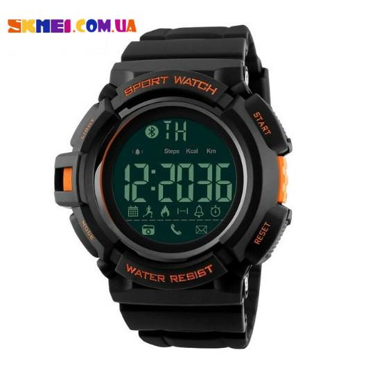 Умные часы SKMEI 1245 c Bluetooth (Orange)