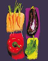 """Картина по номерам """"Цветные овощи"""" 40*50см"""