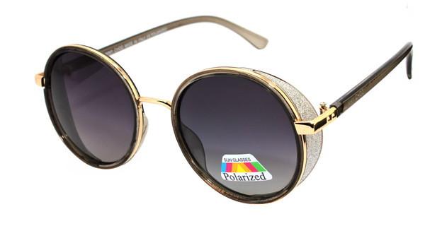 Солнечные очки женские круглые Polaroid Jimmy Choo