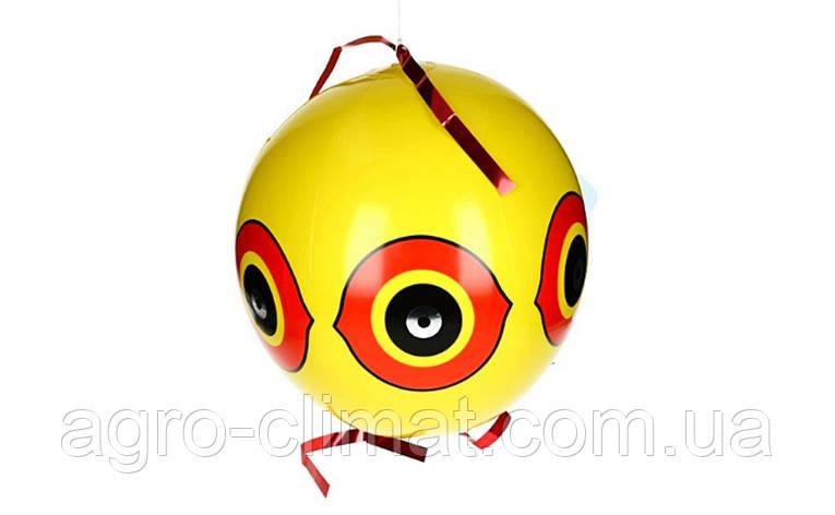 Виниловый шар отпугиватель — Сова, фото 2
