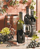 "Картина по номерам ""Вино для гурмана"" 40*50см"