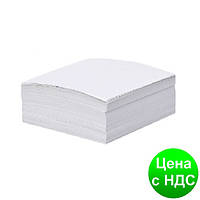 Бумага для заметок белая, 85х85мм 300 листов, клееная Ц964069У