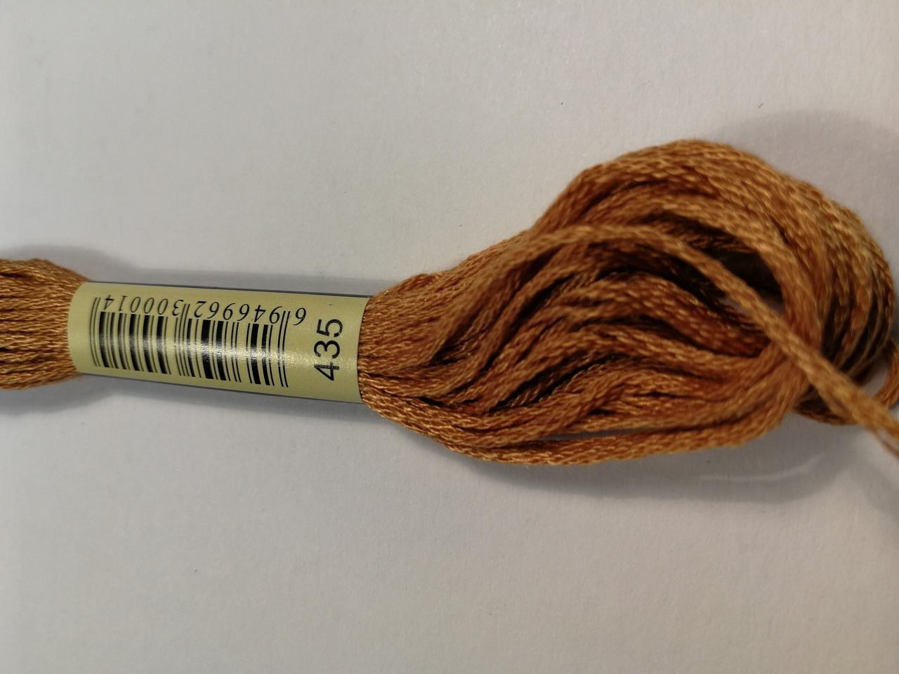 Мулине СХС 435 очень светло-коричневый