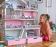 Обои для кукольного домика NestWood Большой особняк для ЛОЛ (ob002), фото 4