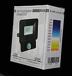 Прожектор светодиодный BIOM 10W S4-SMD-10-Slim+Sensor 6500К 220V IP65, фото 7
