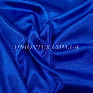 Ткань атлас стрейч синий электрик