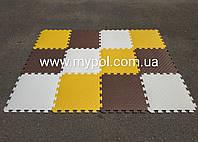 Коврик - пазл 2*1,5 м комплект 12 элементов толщ 10 мм