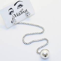Серьги подвески Mavka Jewelry 1046, КОД: 301483