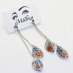 Серьги подвески Mavka Jewelry 1038, КОД: 301487