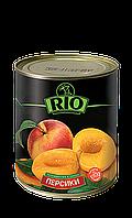 Персики половинками Рио 850 мл