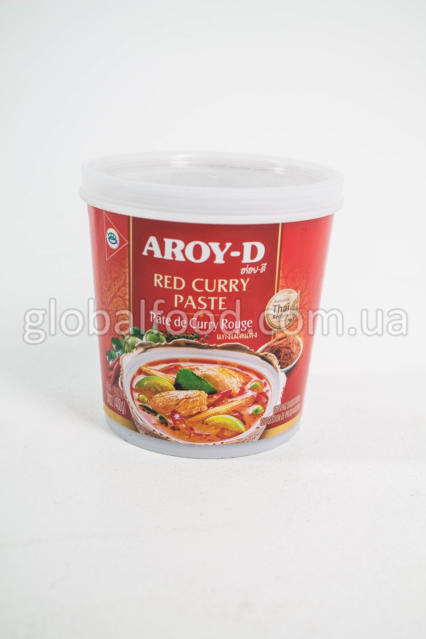Карри Паста Красная Aroy-D (400 г.)