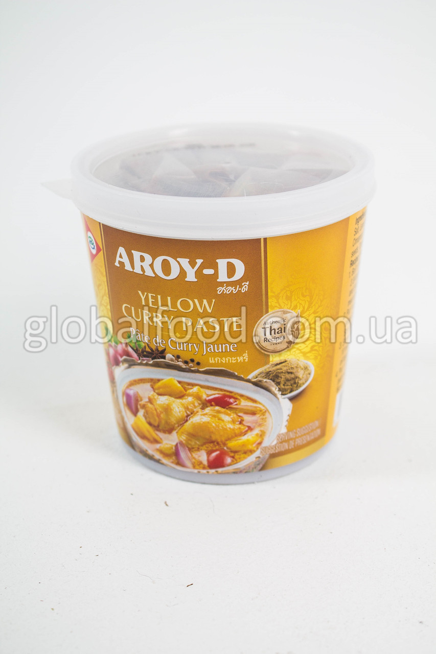 Паста Карри Жёлтая Aroy-D (400 г.)