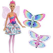 Кукла Барби Фея Летающие Крылья Barbie Dreamtopia Rainbow Cove Flying Wings Fairy Doll