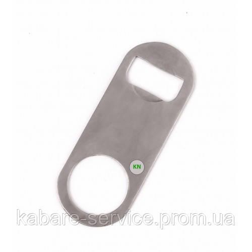 Открывалка для бутылок маленькая (нержавеющая сталь) 10 см